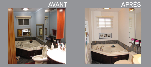 Home staging par pam la venne home staging repentigny 1 for Salle de bain home staging