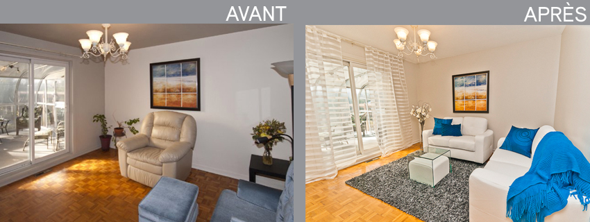 Home Staging Par Paméla Venne » Home Staging Laval, St-Rose