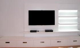 Création meuble audio-vidéo