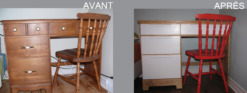 Home staging par pam la venne relooking pupitre enfant - Location meuble home staging ...